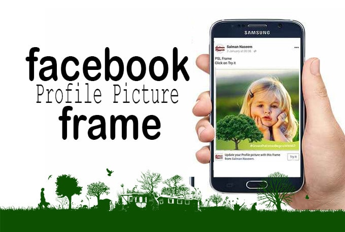 Create facebook frame for your profile picture by ...