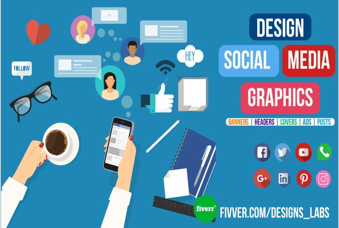 Design Instagram Facebook Twitter Social Media Graphics By Designs Labs
