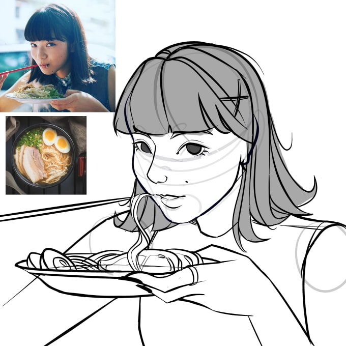 Draw Yourself As A Cartoon By Ang19mel
