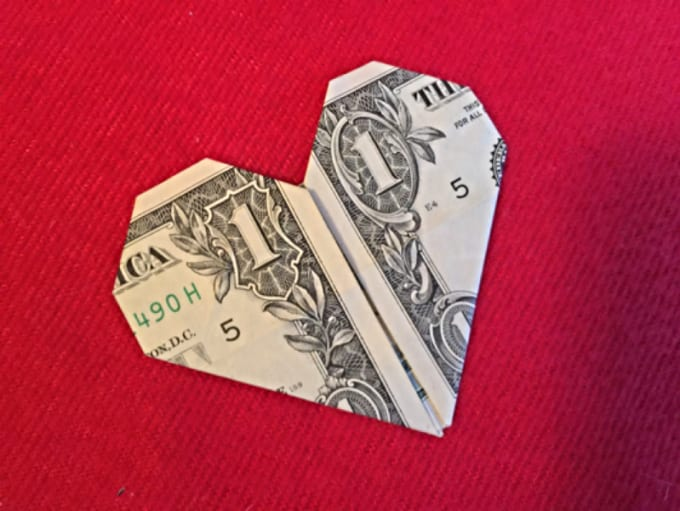 Money Heart ~ great to give as a gift to someone special ... | 511x680