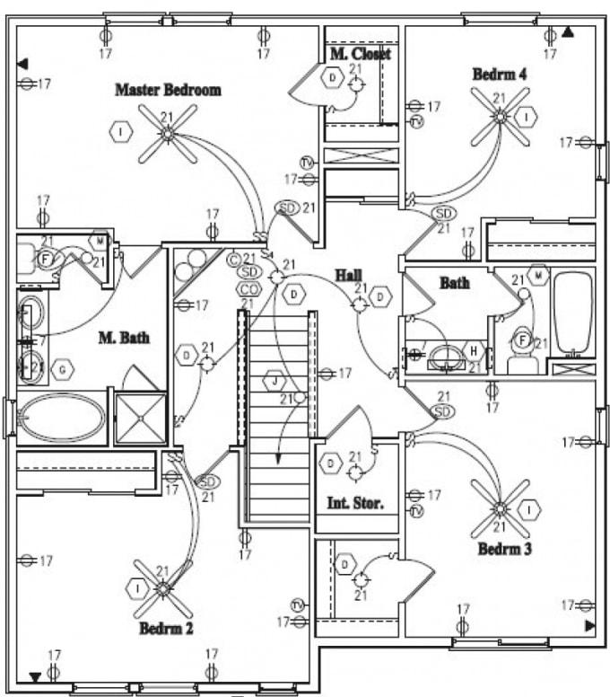Design Or Draw Floor Plans Electrical Plumbing Drawings By Tmraju1 Fiverr