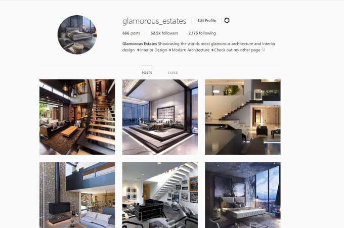 Give You Shoutout On 60k Interior Design Instagram Page By Instagramtutor