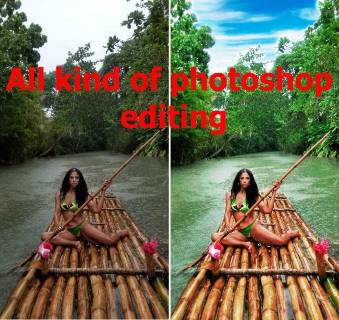 photoshop edit photo retouching