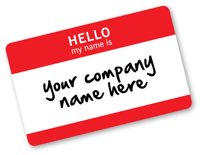 come up with your business name and slogan