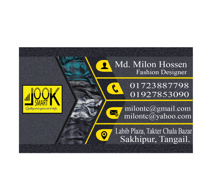 Design Business Card With Creative Concepts By Milontc