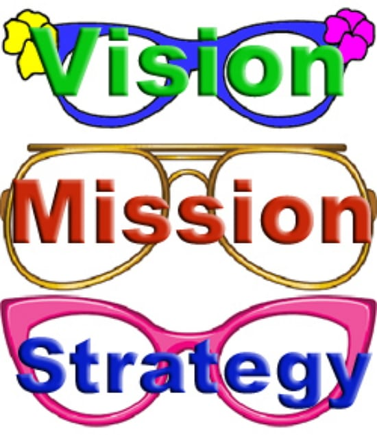 write you a good mission and vision statement