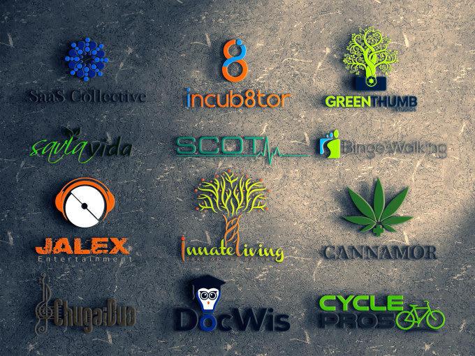 I will do professional business logo design, modern, minimalist in 12 hrs