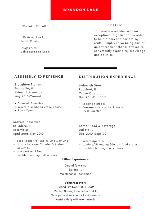 Give your resume a face lift accounting and bookkeeping resume