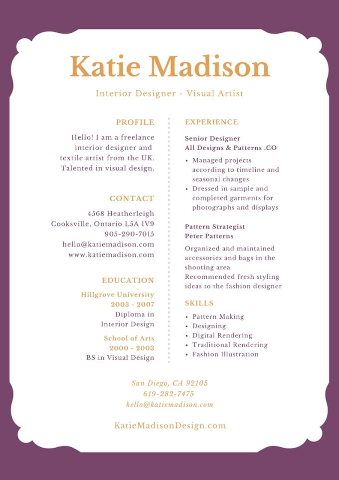 Customize Your Cover Letter And Resume By Souloracle Fiverr