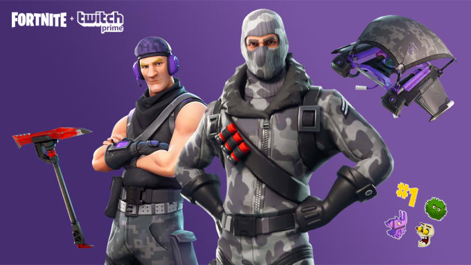 Get You The Twitch Prime Loot For Fortnite By Danilo016