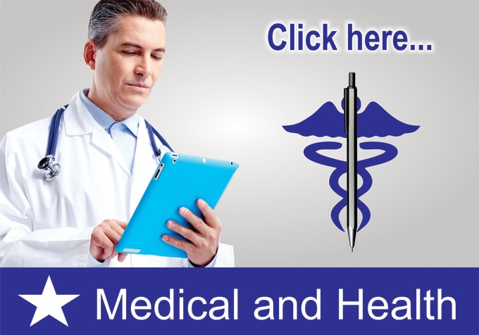 write health, medical, nutrition articles