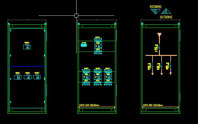 Autocad Electrical Diagram Drawing