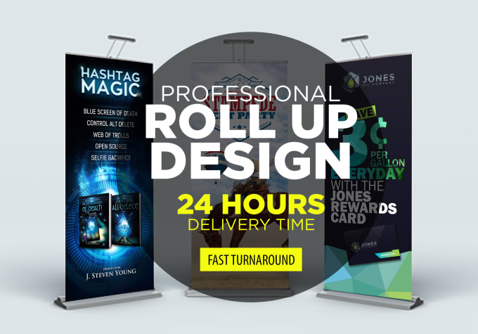 Do Awesome Roll Up Banner Retractable Banner By Vsardju