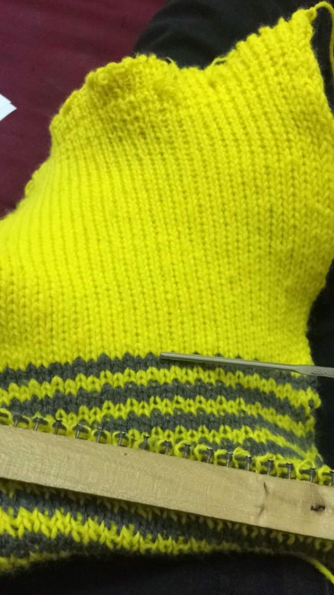 Knitt The Muffler As Your Wish By Divyamary005