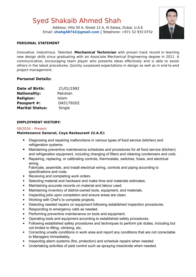Write A Custom Resume Cover Letter Or Linkedin Page Urdu German