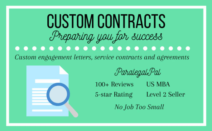 Review Or Draft Contracts Service Agreements By Paralegalpal