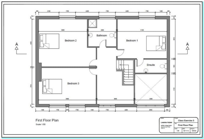 Redraw 2d Floorplan Using Autocad With Very Fast Delivery By Hamadfach Fiverr