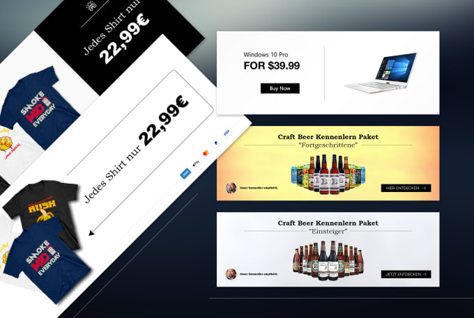 Design Banners For Website Online Store Ads Or Print By Simplesm4rt