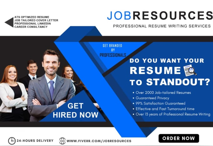 Provide Executive Professional Resume Writing Service By Jobresources