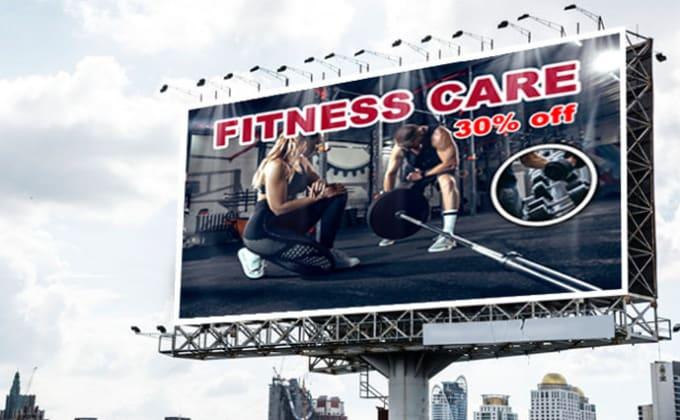 do billboard design professionally