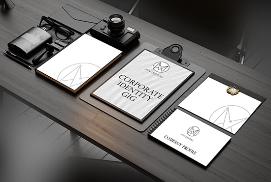 I will design corporate identity for your business