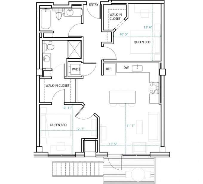 design 2d and 3d home plan in autocad by nemat786000