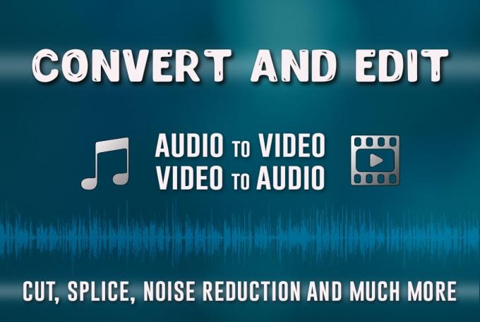 Voy a editar y convertir su archivo de audio o vídeo