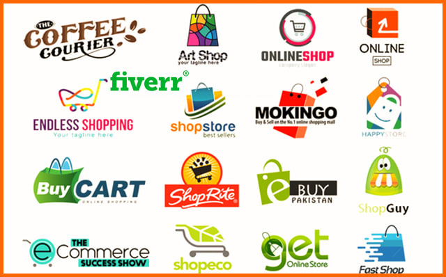 Do ecommerce store logo for online shop in 24 hours by Ariful9356 | Fiverr