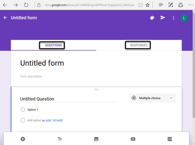 Create various online forms using google forms by Sasha ...
