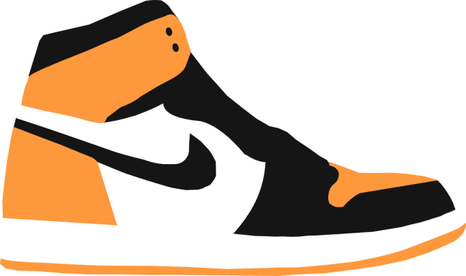 Create a sneaker graphic by Griffinmartin