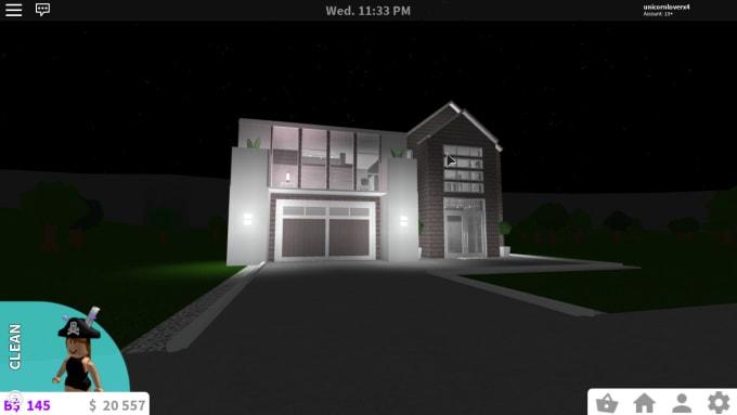 White Aesthetic Houses Roblox Bloxburg