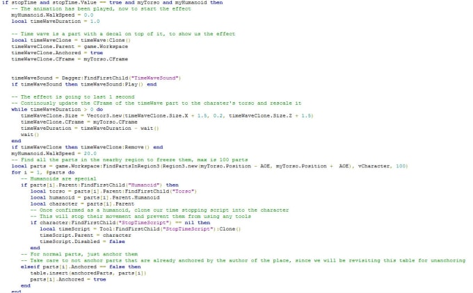 Script Basic Parts Of Your Roblox Game By Thebigmangamer