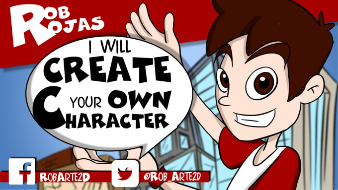 Create Your Own Cartoon Character By Robrojas930