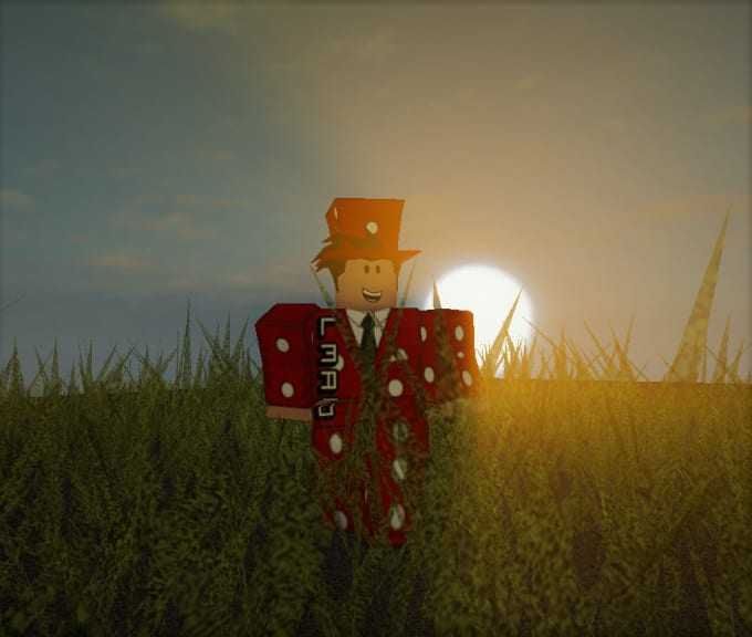 make a roblox wallpaper with any roblox avatar