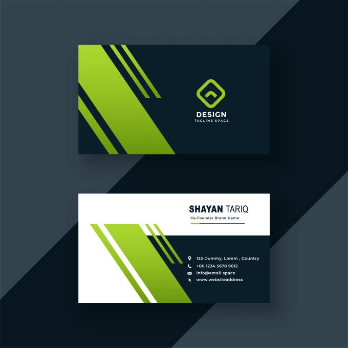 Do Creative Business Card Design By Shayantariq75