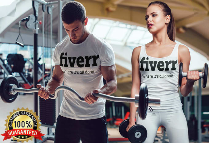 Fitness Male And Female Models