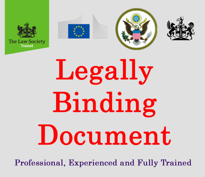Offer A Legal Contract, Legal Document And Agreement