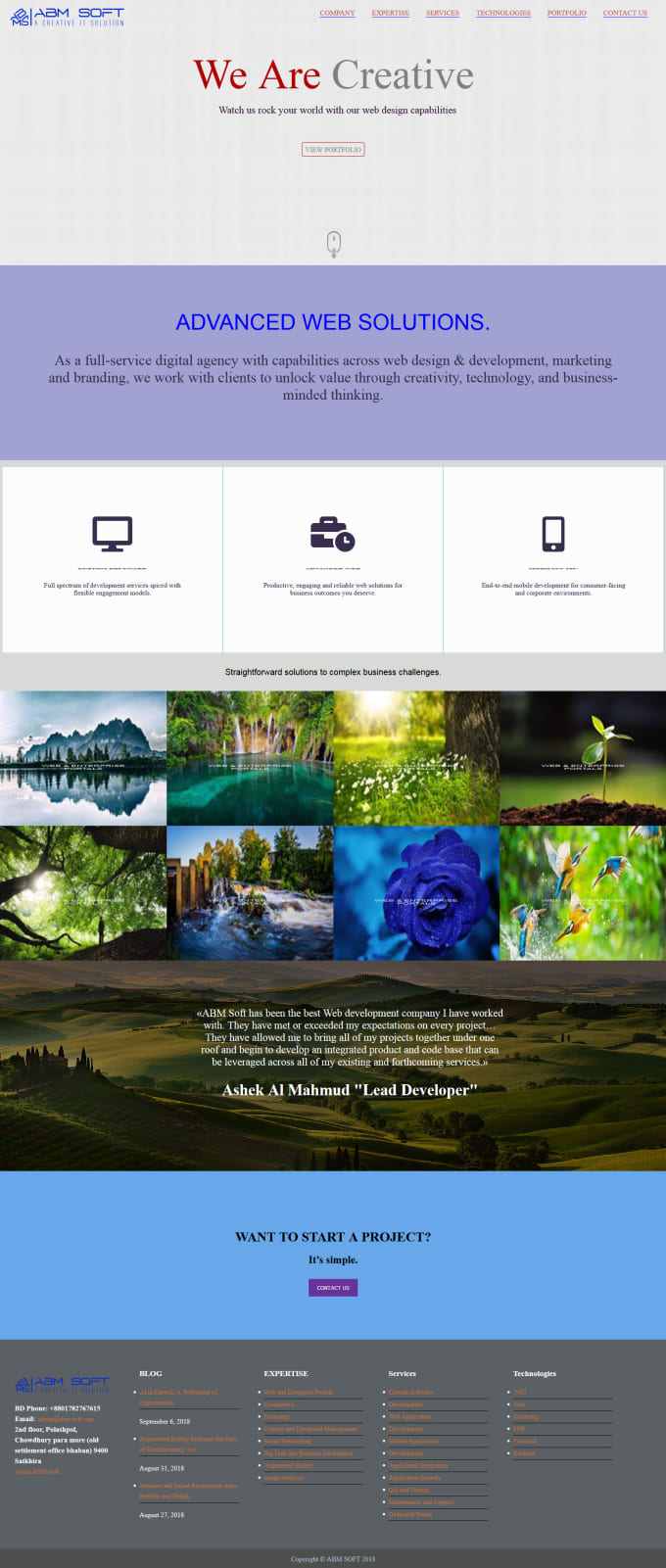 Build Responsive Html Web Design By Nawaz72542