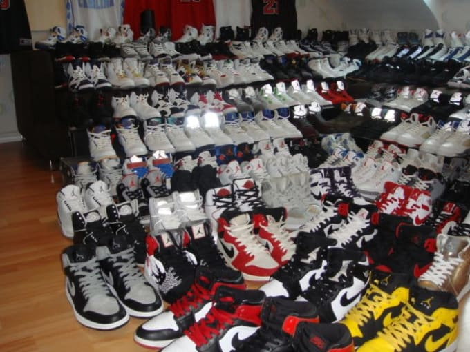 thousands reselling shoes