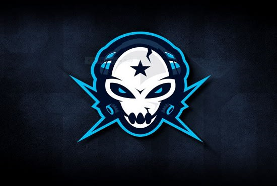Make gaming custom logo with name by Yashpallalas
