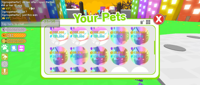 Roblox Pet Simulator Discord Give You Rainbow Rarest Pets In Roblox Pet Simulator Cheap By Goofyoof