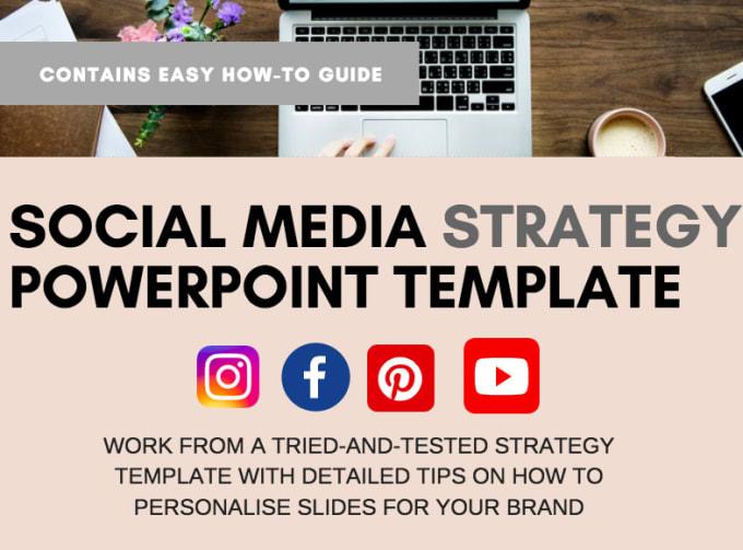 Provide A Social Media Strategy Template For Your Brand By Sarahdavis558