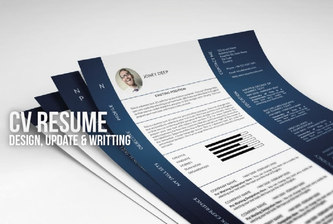 design and update your cv resume or linkedin profile by