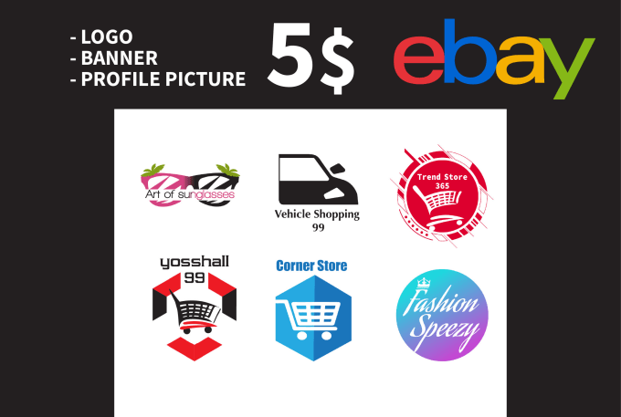 Design Ebay Logo Banner That Catch The Customers Eye By Dechacho