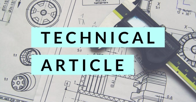 Write technical blog