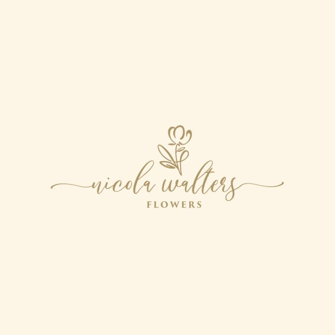 design high regulation and floral logo with unlimited revision