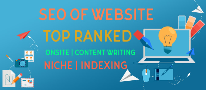 do on page and off page SEO and rank your website on top