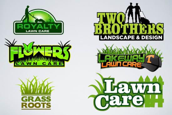 Design Lawn Care Modern Landscape Custom Logo Design By Davidmark24