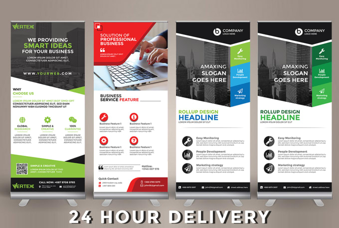 Do Awesome Roll Up Banner Design In 24 Hours By Mdkawsar0