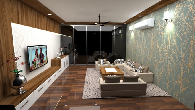 Make A 3d Interior Design And Rendering With Autocad 3ds Max By Prarthanarajput